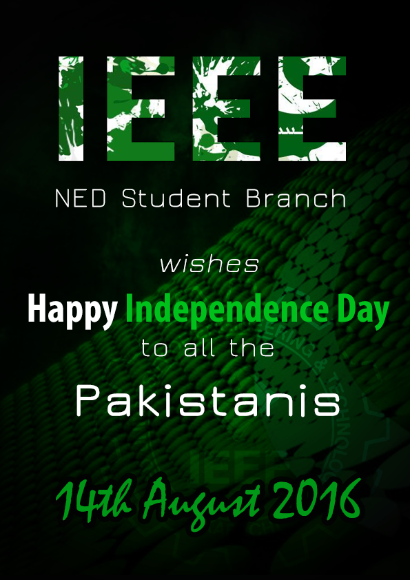 IEEE Independence Day Poster