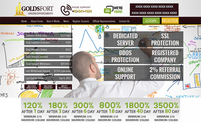 Goldsfort GC HYIP Manager Template
