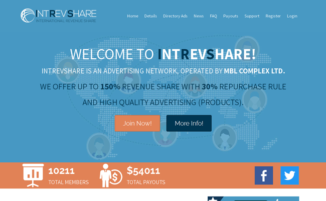 IntRevShare ProXscripts Template