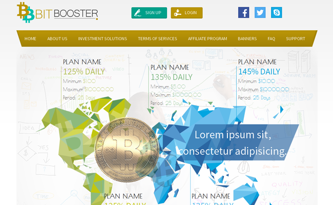 BitBooster GoldCoders Template