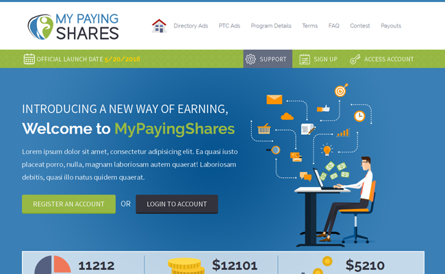 MyPayingShares ScriptBolt Template