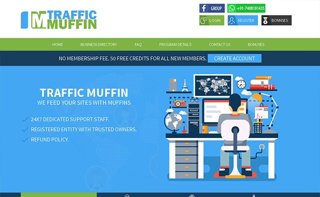 TrafficMuffin Scriptbolt Template