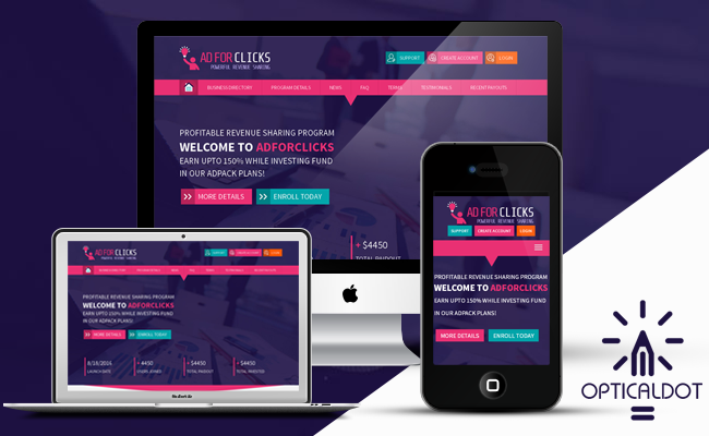 AdForClicks Responsive Template