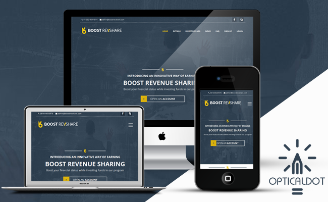 BoostRevShare Responsive Template
