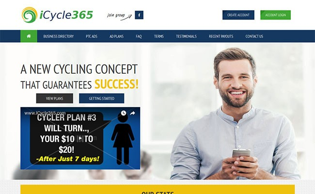 iCycle365 RevshareX Template