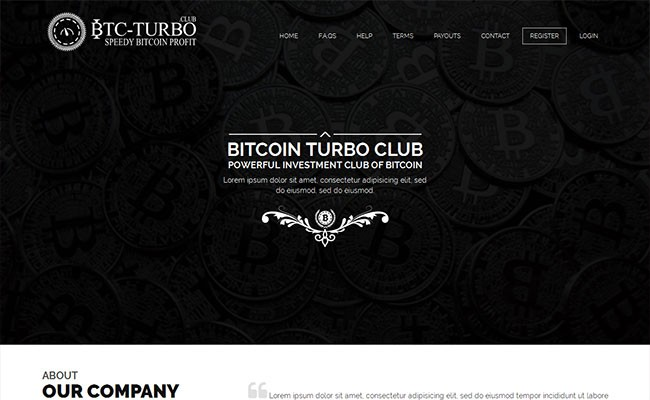 BTCTurbo BitcoinDX Template