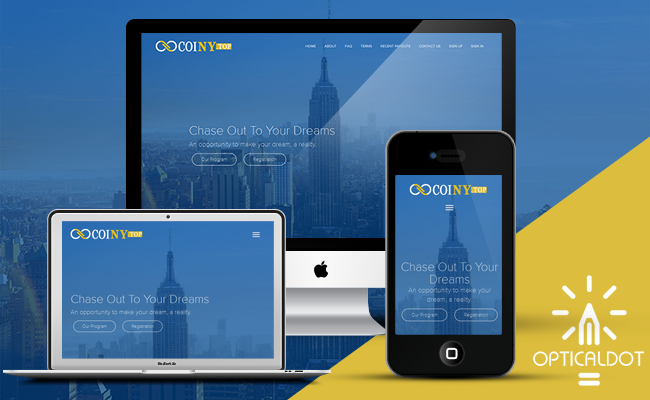 Coiny Responsive Template