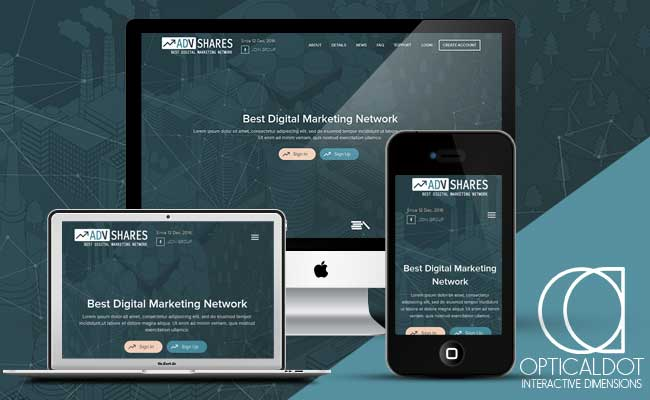 AdvShares Responsive Template