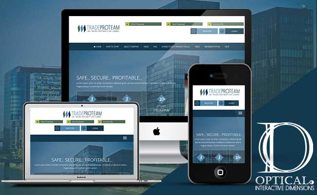 Tradeproteam responsive template