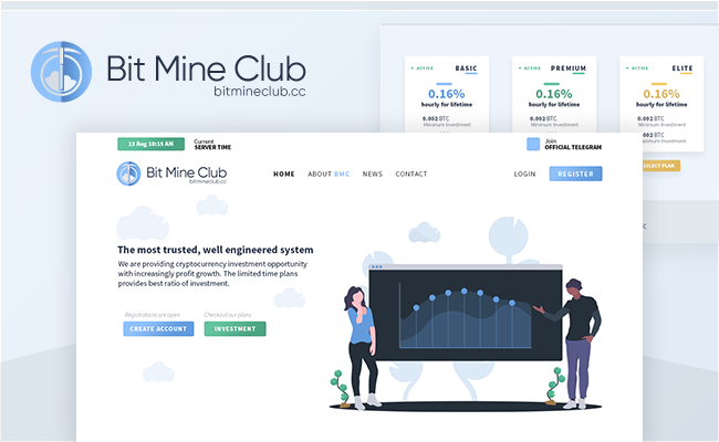BitMineClub Goldcoders Template
